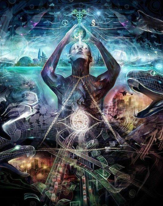 Les pensées humaines sont de l'énergie qui influence le monde matériel