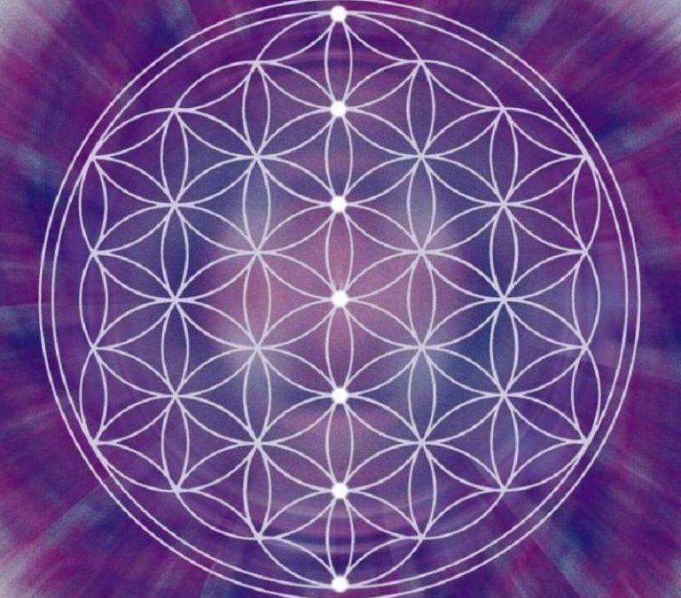 la fleur de vie – la circulation de l'énergie vitale dans l'univers