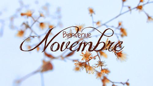 Novembre et la transformation de Soi