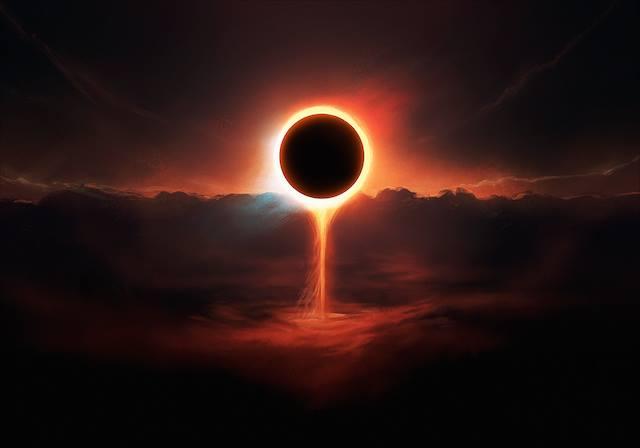 Nouvelle lune du 15 février 2018 et éclipse solaire …