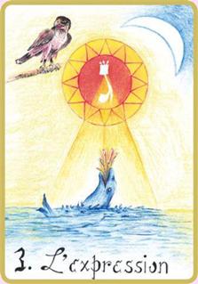 La carte de tarot de L'Expression de Soi pour le mois de mars