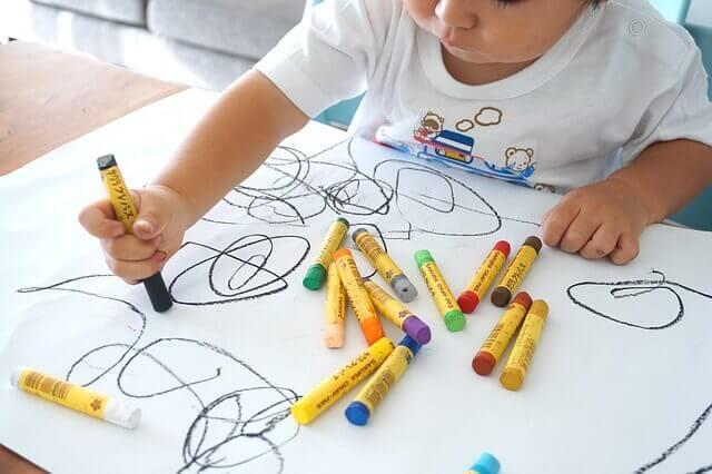 Le dessin infantile et ses étapes