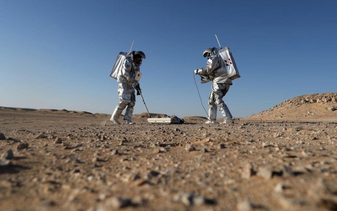 Des simulations martiennes dans le désert d'Oman