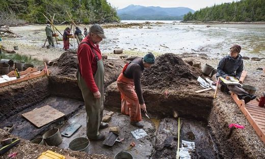 Des empreintes humaines préhistoriques déterrées sur les rives du Canada appuient la théorie de la migration humaine de l'Asie à l'Amérique