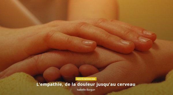L'empathie, de la douleur jusqu'au cerveau
