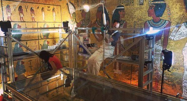 Les «chambres cachées» dans la tombe de Toutankhamon livrent leurs secrets