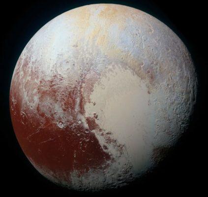 Pluton serait composée de millions de comètes