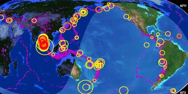 Prévision des Séismes pour la Semaine : 15 éruptions de volcan à Hawaï, Sainte-Hélène, Yellowstone, Ranier (vidéo)