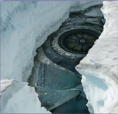 Informations sur les écrasements d'ovnis en Antarctique