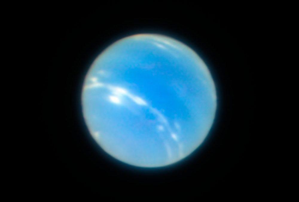 Splendides images de Neptune prises par le VLT au Chili