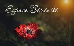 Espace Sérénité, lieu de ressourcement pour l'Âme