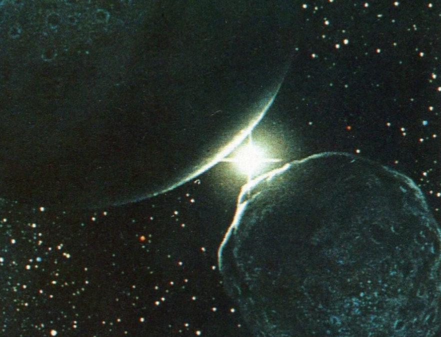 Conjonction Saturne Pluton
