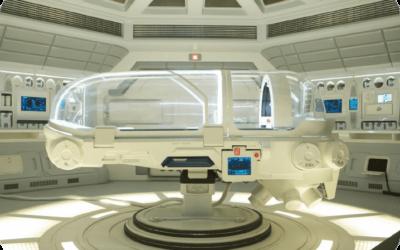 Les capsules médicales holographiques des programmes spatiaux secrets