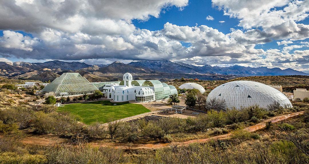 En Arizona, une mini-Terre sous cloche