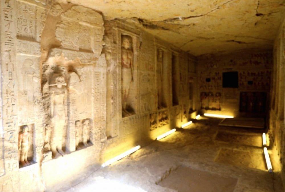 Une tombe de 4400 ans découverte en Egypte