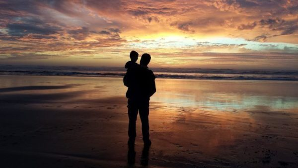 La relation avec le monde spirituel d'un enfant disparu