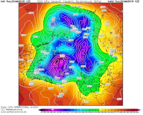 Le vortex polaire s'effondre et pourrait impacter notre hiver