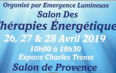 Deuxième édition du  Salon des Thérapies Énergétiques.