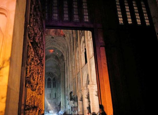 Message marial après l'incendie de Notre Dame de Paris hier