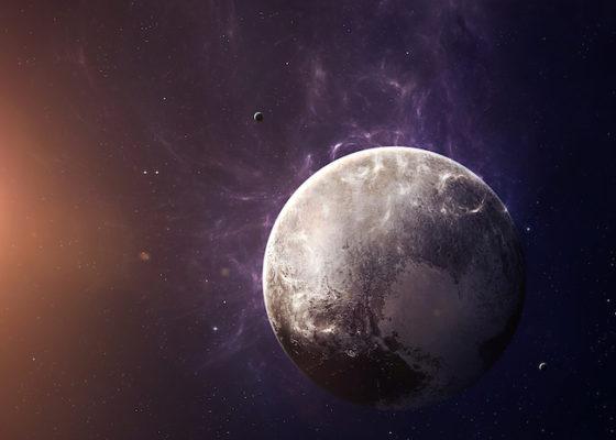 Pluton est devenue rétrograde du 24 avril au 3 octobre 2019.