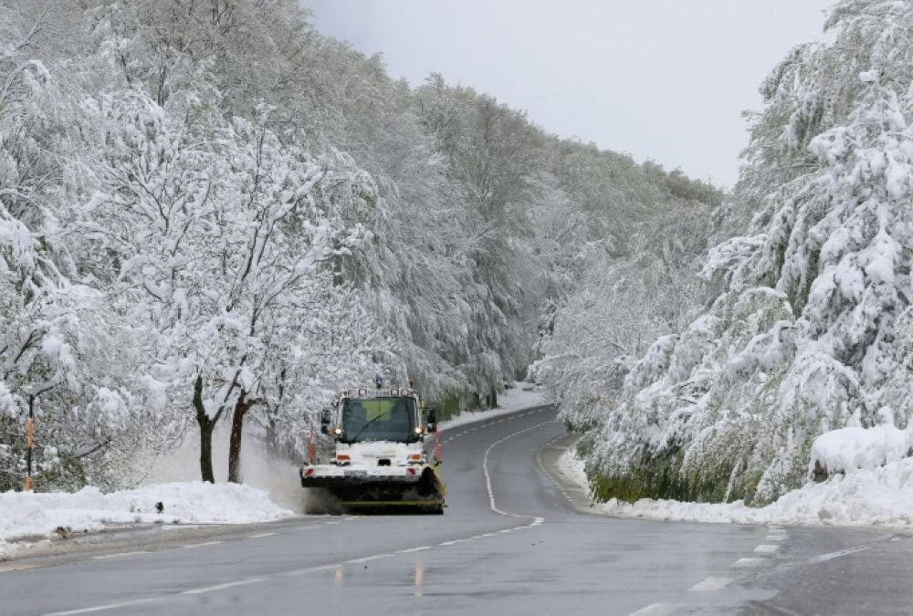 Mai 2019 : il neige sur la Corse