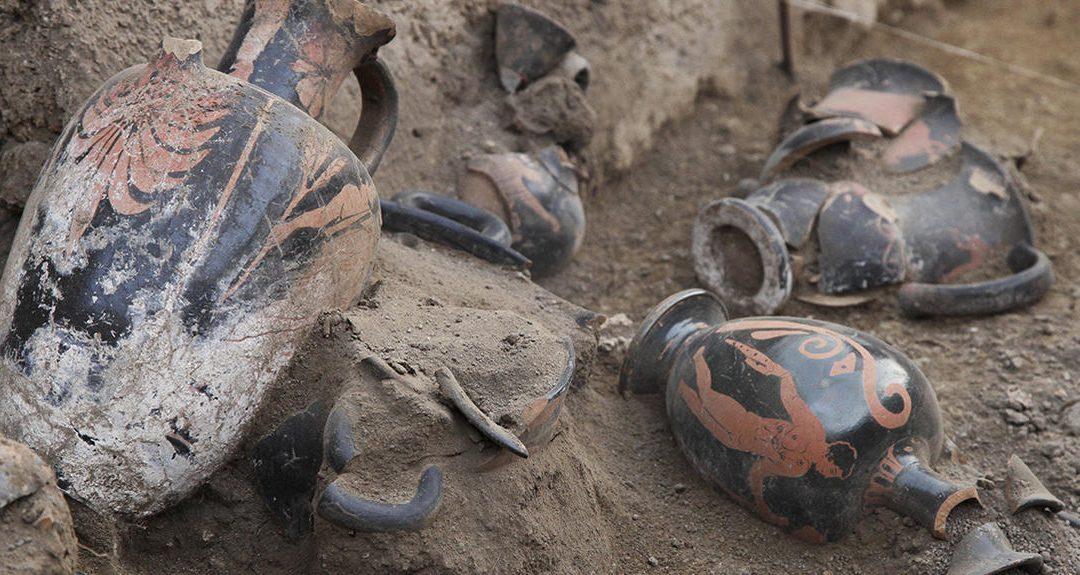 Sur la trace des potiers de Pompéi