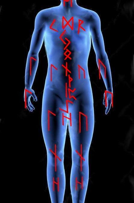 Portrait ésotérique des runes plans cosmique et humain