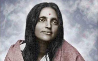 Ma Ananda Mayi sainte bengalie