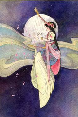 Guidée par la lune, retrouver l'harmonie du féminin