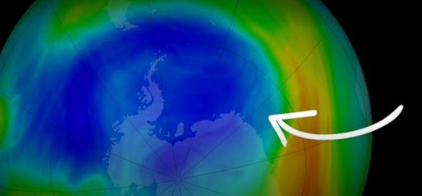 Le trou d'ozone de 2019 est le plus petit jamais observé depuis sa découverte en 1985 !