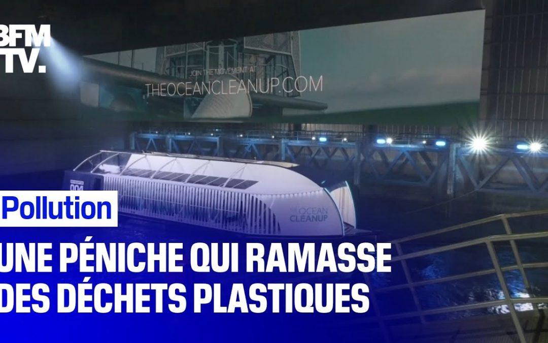 Pour lutter contre la pollution plastique des océans, ce bateau révolutionnaire ramasse 50 tonnes de déchets chaque jour