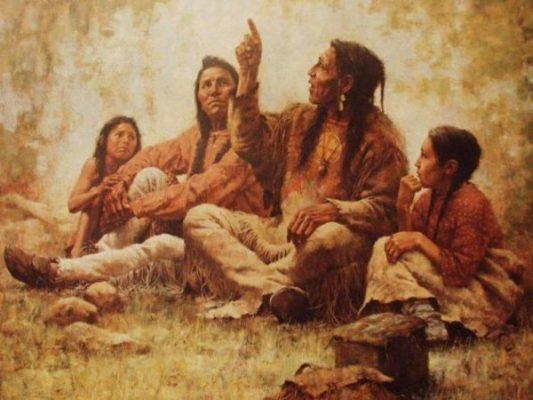 Message de sagesse amérindienne