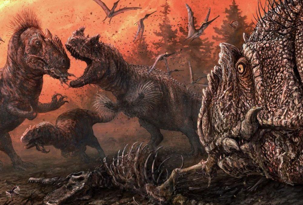 Le cannibalisme de certains dinosaures révélé par des traces de morsures fossiles