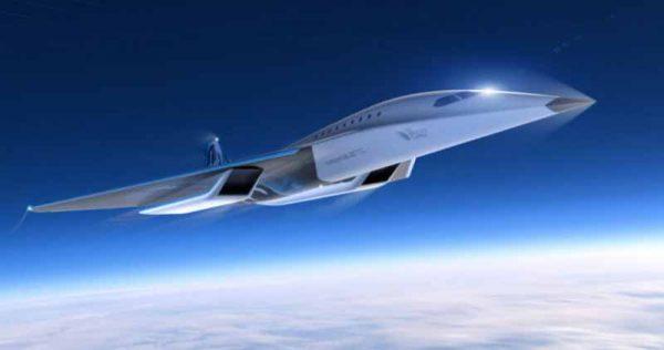 Virgin Galactic présente un concept de Jet Supersonique