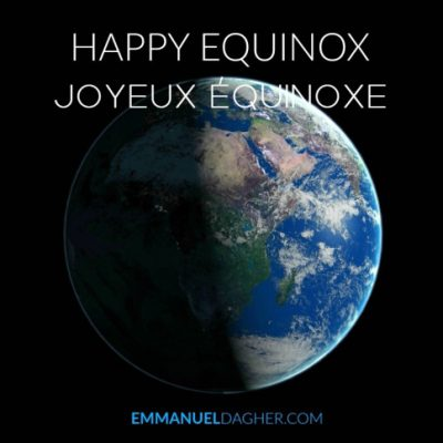Emmanuel Dagher – joyeux équinoxe