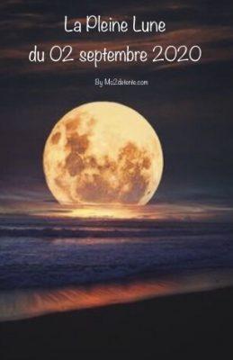Maud : La Pleine Lune du 02 septembre 2020 !