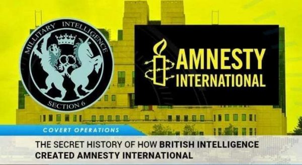 L'histoire secrète de la création d'Amnesty International par les services de renseignements britanniques