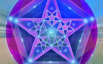 Le pentagramme du monde, activé.